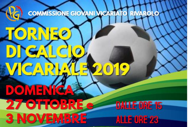 Torneo calcio Vicariale 2019